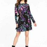 Романтичное, весеннее платье от v by very , размер 14 uk
