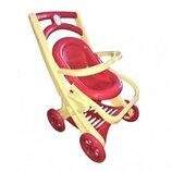 Коляска Для Кукол З Шезлонгом 0122/01. Коляска для ляльки. Іграшкова коляска.