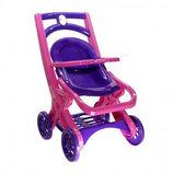 Коляска Для Кукол З Шезлонгом 0122/02. Коляска для ляльки. Іграшкова коляска.