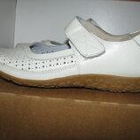 Туфлі балетки італійські нові шкіряні Last Ladies Caravelle Оригінал р.38 стелька 24,5 см