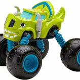Fisher-Price Вспыш и Чудо-Машинки Зег трансформер DKV78 Monster Morpher Zeg Blaze and The Monster Ma