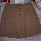 Pakita Супер стильная фирменная юбка под замш 10 л