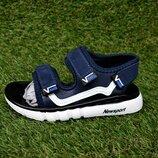 Детские сандалии босоножки на мальчика Vans Blue ванс синие