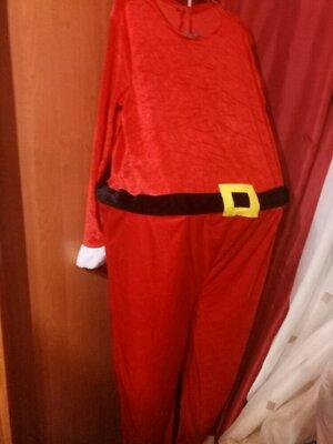 костюм новогодний санта клауса