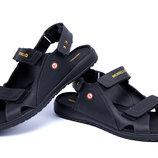 Мужские кожаные сандалии 20 черн