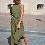Нежное легкое платье 42 - 44, 44 - 46 пять расцветок