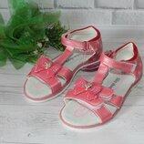Красивые нарядные босоножки на девочку сандалики размер 26 27 28 29 30 31