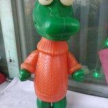Кукла Ссср Крокодил 35 см пластик