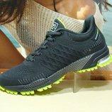 Мужские кроссовки BaaS Marathon т.серый 41р-46р