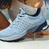 Мужские кроссовки BaaS Marathon с.серый 41р-46р