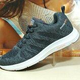 Мужские кроссовки BaaS Running т.серый 41р-46р