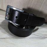 Кожаный мужской ремень в стиле Tommy Hilfiger, Томми Хилфигер