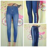 Фирменные джинсы, Хит 2019, Зауженные короткие, Турция, много моделей, от 26 до 33размера