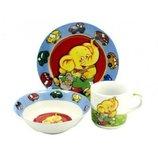 Слоник набор детской посуды