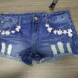 Шорты шортики джинс джинсовые короткие красивые хит размер 10 George