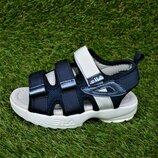 Детские босоножки Nike Blue найк синие р26-31