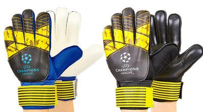 Перчатки вратарские с защитными вставками на пальцах Champion League FB-903 размер 7-10