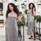 Шикарное вечернее платье турецкая плесировка с напылением большие размеры скл.1 арт.53381