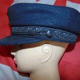 Стильная фирменная кепка кашкет капитанка Франция Navi Coast.59-60
