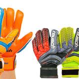 Перчатки вратарские с защитными вставками на пальцах Reusch FB-915 4 цвета, размер 8-10