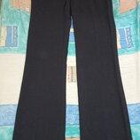 Классные черные брюки для девочки на невысокий рост. Отличный вариант для школы.