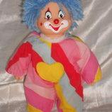 шикарная кукла клоун - барбарик из Швейцарии 22 см