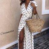 Платье в пол, штапель