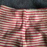 Шерстяные штанишки для мальчика 0-3м полосочка.