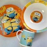 Набор посуды детский Миньоны