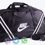 Спортивная сумка найк, дорожная сумка, вместительная сумка