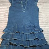 Плаття джинсове 116 см