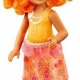 Barbie Барби Дримтопия Челси с оранжевыми волосами DVN04 Dreamtopia Rainbow Cove Sprite Doll Orange