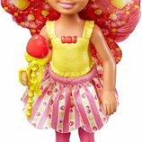 Barbie Барби Дримтопия Челси маленькая фея конфетка DVM90 Dreamtopia Small Fairy Doll Gumdrop Theme