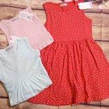 Хлопковые платья 110-160. Венгрия Glo Story