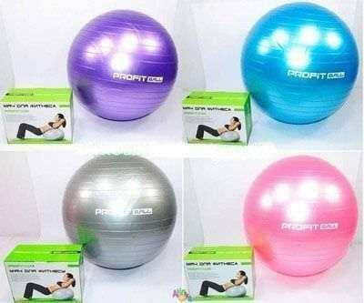 Фитбол Мяч для фитнеса Profi 75 см антивзрыв Отл качество ProfitBal