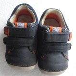 Туфли кроссовки кожа Clarks 19 розмір