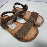 Легкие кожаные босоножки сандалии GIOSEPPO р. 25 16 см Индия