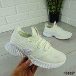 Трендовые женские белые кроссовки, супер качество