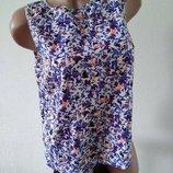 Майка маечка блуза блузка футболка размер 12 New Look