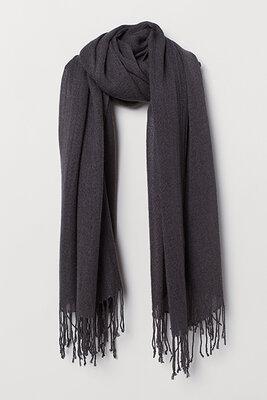 Оригинальный тканый шарф от бренда H&M разм. ONE SIZE