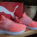 Легкие кроссовки для бега Puma, 41 р., 26,5 см UK 7,5, USA 10 корал