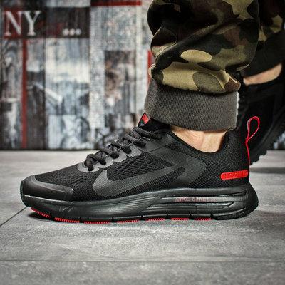 Кроссовки мужские Nike Air Zoom, черные Код 16012
