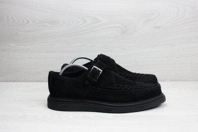 Замшевые мужские туфли криперсы All Saints, размер 44 - 44.5 монки