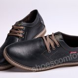 Туфли мужские кожаные Clarks Originals M - 511 Blue