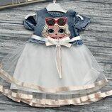Платье для девочки LOL, 2 вида