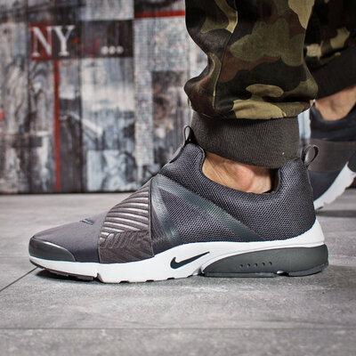 Кроссовки мужские Nike Air, темно-серые Код 15922