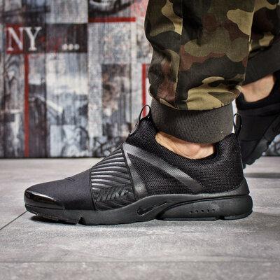 Кроссовки мужские Nike Air, черные Код 15921