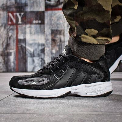 Кроссовки мужские Adidas Galaxy, черные Код 15915
