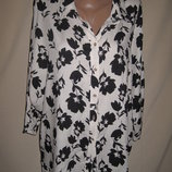 Свободная вискозная блуза George р-р16