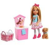 Barbie Барби клуб Челси и щенок стенд угощений FHP67 Club Chelsea Doll and Playset Puppy Shop